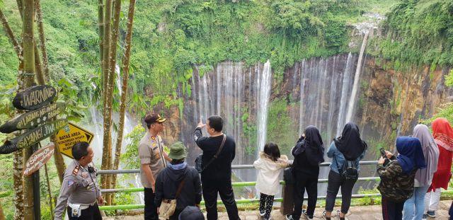 AKBP Arsal Sahban : Tumpak Sewu Niagaranya Indonesia Adanya di Lumajang