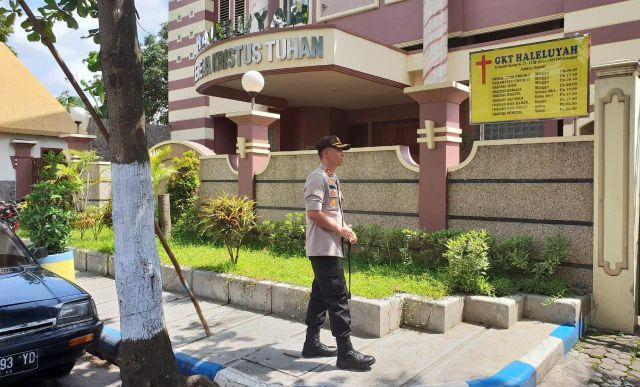 AKBP Arsal Cek Langsung Persiapan Keamanan Gereja Jelang Natal