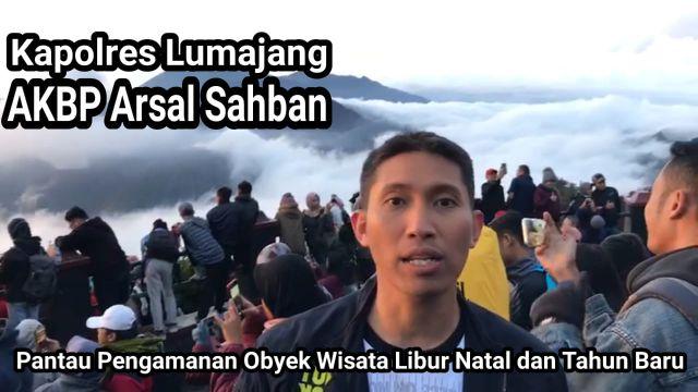 Video : Kapolres Lumajang Nge-Vlog Pengamanan Obyek Wisata