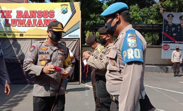 AKBP Deddy Foury Millewa Target 1 Juli 2020 Lumajang Zona Hijau