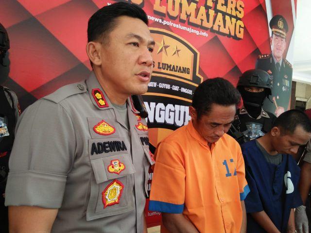 Karyono Ngisap Sabu Demi Kebugaran Tubuh Ketahuan Polisi Lumajang