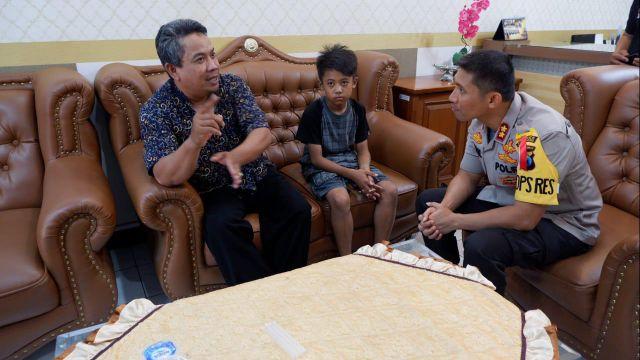 Video : Kisah Hilangnya Alwi Siswa SD kelas 6 Kunir
