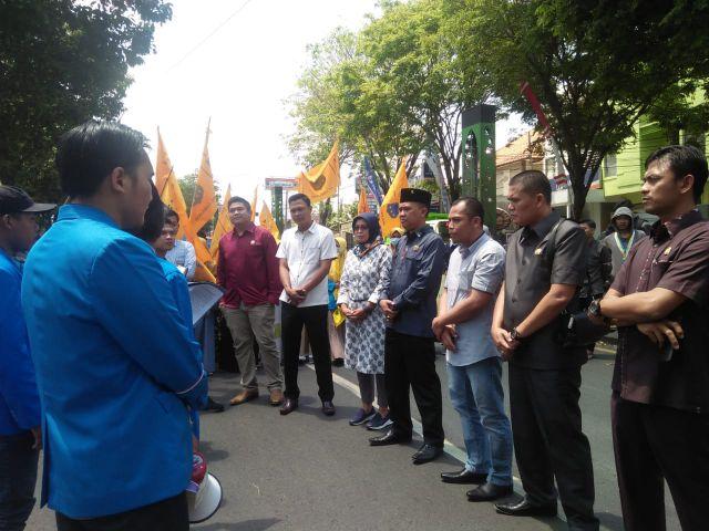 PMII Lumajang : DPRD Jangan Bungkam Awasi Pemerintahan Cak Thoriq