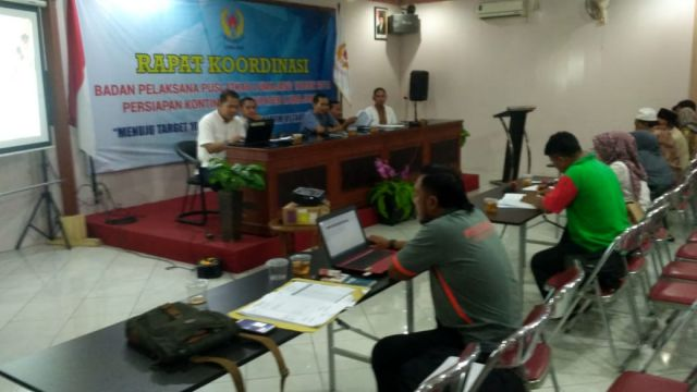 Ketua KONI Lumajang Kumpulkan Tim Monev Cabor ke PORPROV