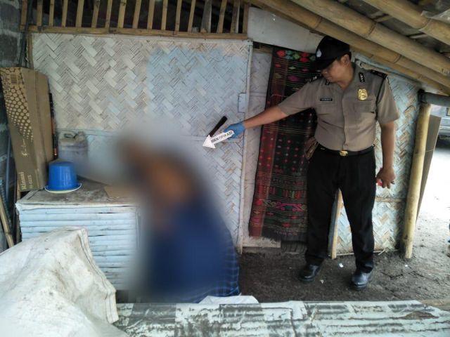 Polisi Dilapori Pak Dhe Jupri Meninggal Saat Duduk di Gubuk Mbok Sum Kabuaran