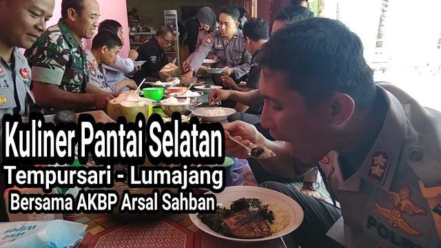 Video : Kuliner Pantai TPI Tempursari Lumajang