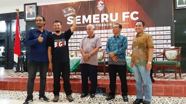 3 Tahun Lumajang Satu Setia Jadi Media Partner Semeru FC
