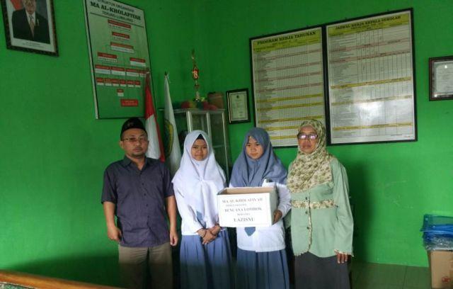 LazisNU Lumajang Juga Galang Dana Untuk Korban Gempa Lombok