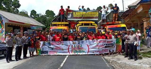 Kasat Lantas Lumajang Temui LTC Tekan Aksi Truk Oleng di  Jalanan