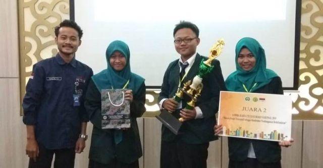 Mahasiswa IAI Syarifuddin  Lumajang Juara II Karya Tulis Ilmiah Nasional
