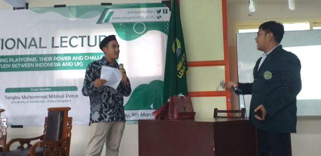 Mahasiswa Malaysia Bicara Pentingnya Literasi Media di IAI Syarifuddin