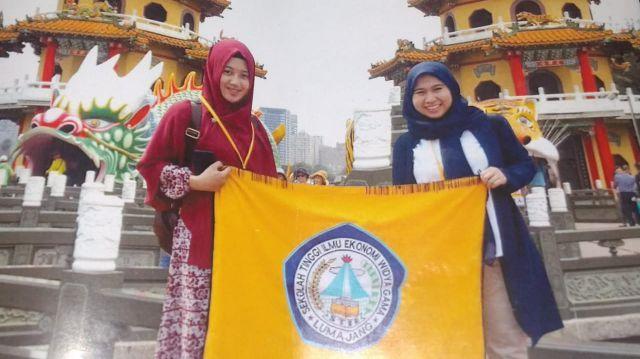 Novita dan Ayu Mahasiswi Widya Gama Lumajang Belajar ke Taiwan