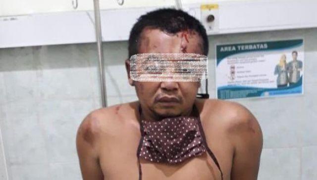 Pencuri asal Sumberwuluh Babak Belur Dihajar Warga Bades Pasirian