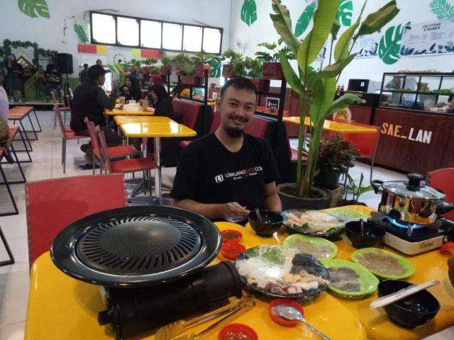 D'Grill Sajikan Makanan Shabu-Shabu Ala Jepang Pertama di Lumajang