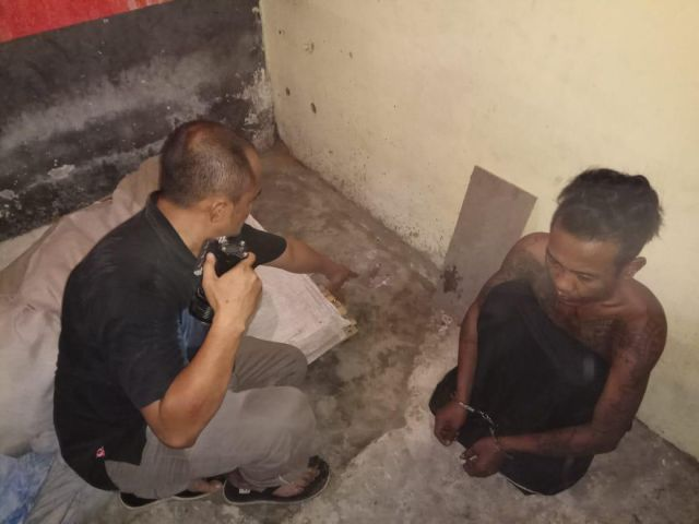 Simpan Sabu Mat Pelor Tempeh Ditangkap Polisi