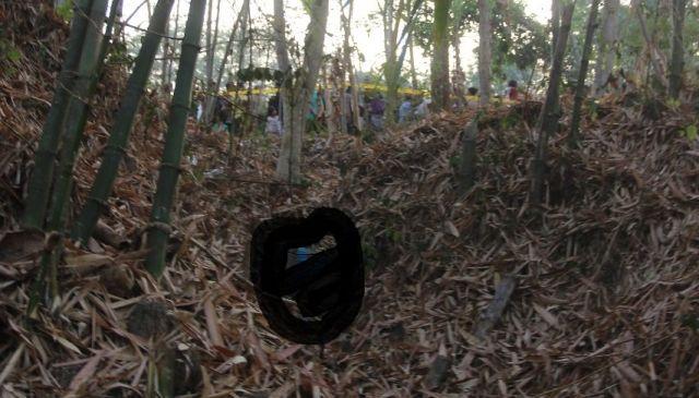 Mayat Membusuk di Bawah Barongan Bambu Gegerkan Lumajang