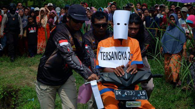 Polisi Berhasil Ungkap Kasus Pembunuhan ID dari Motor dan Nomer HP Korban