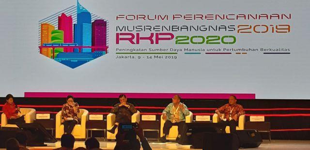 Hadiri Musrenbangnas, Cak Thoriq Siap Mendukung Pemerintahan Jokowi