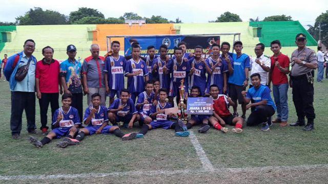 Mustikatama FC Juara Soeratin U15 Lumajang Usai Hajar Turangga FC  4 - 1