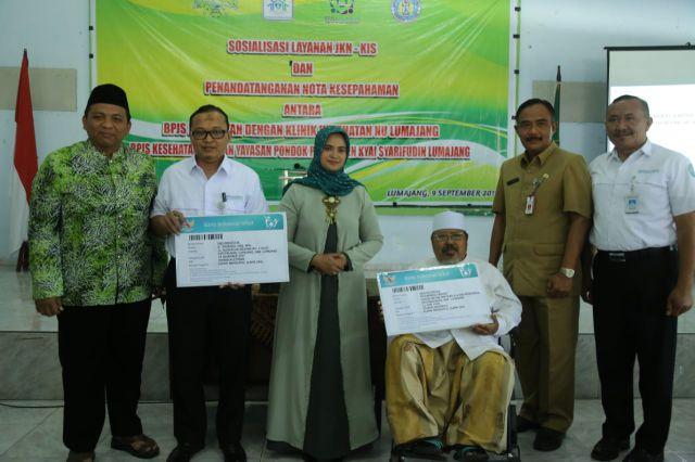 Klinik NU dan Ponpes Kyai Syarifuddin Jalin Kerjasama JKN dengan BPJS