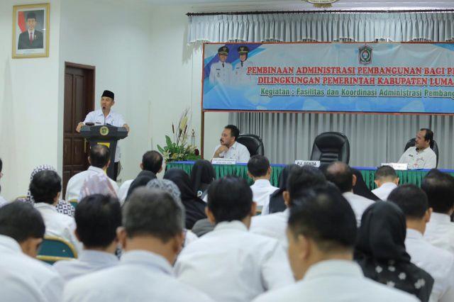 Pj Sekda : Penggunaan APBD 2019 oleh SKPD Sangat Rendah Tri Bulan I