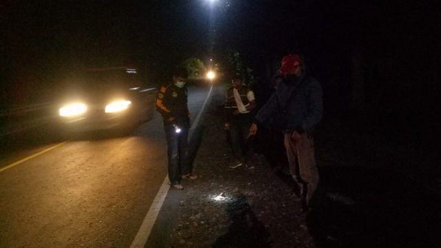 Begal Bacok dan Rampas Motor Warga Surabaya di Jalan Ranuyoso Lumajang