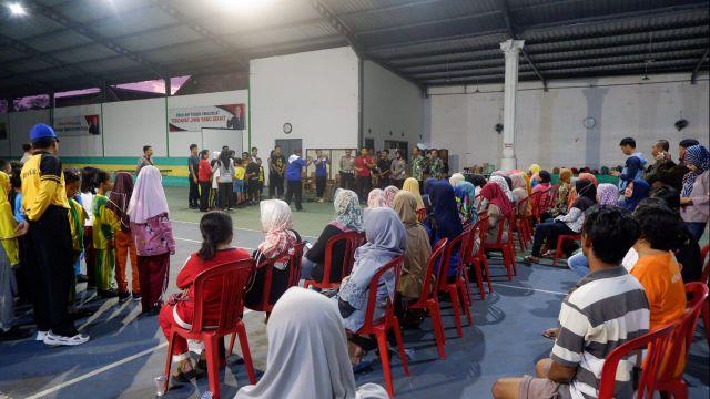 Kapolres Lumajang Pantau Seleksi Pocil di GOR Amanda Sport Center