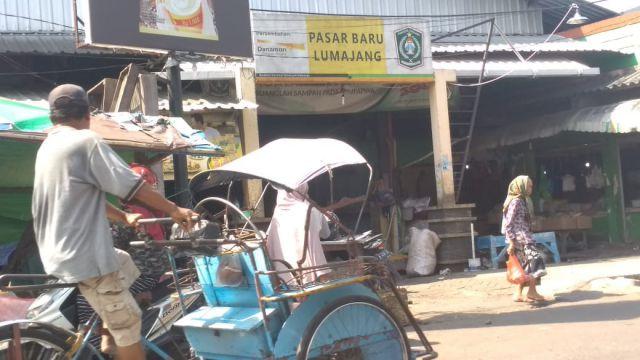 Wow..! Pedagang Pasar Baru Lumajang Diprediksi Sumbang PAD 2019  Rp. 2 Miliar Lebih