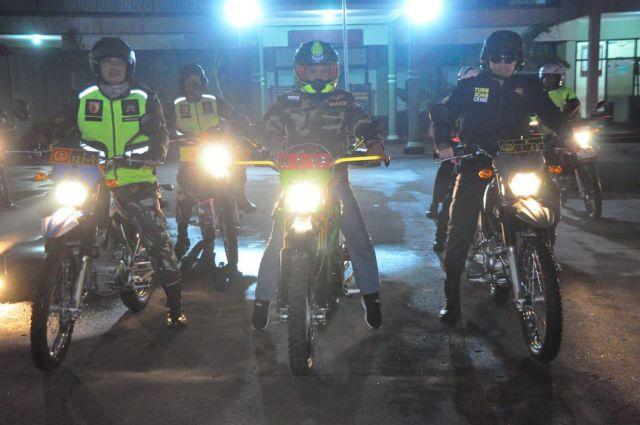 Cak Thoriq Bersama Kapolres dan Dandim Patroli Wilayah Lumajang Rawan Kriminlitas