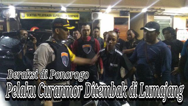 Video : Pelaku Curamor asal Gucialit Ditembak Tim Cobra Lumajang