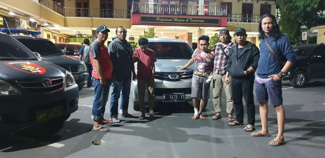 Tim Resmob Polres Lumajang Bekuk Sindikat Pencuri Mobil Rental Kurang dari 24 Jam