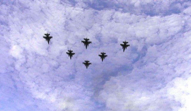 TNI AU Bombardir Musuh Hendak Kuasai Tambang Pasir Kedaulatan NKRI