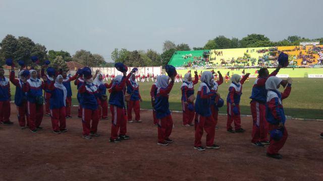 PORSENI MI se Jawa Timur Dibuka di Stadion Semeru Lumajang