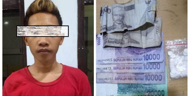 Apes,  Oki Jualan Pil Koplo di Pasirian Ditangkap Polisi