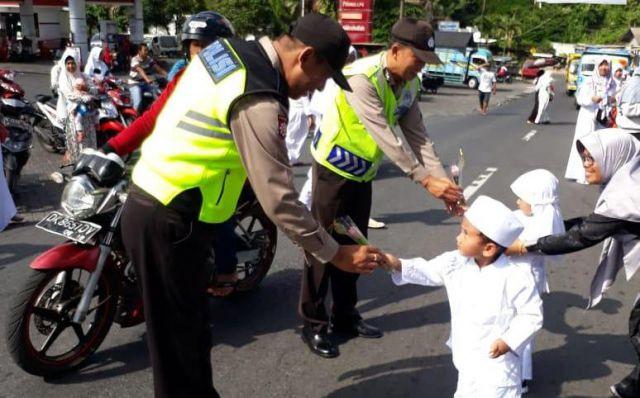 AKBP Arsal Sahban Galakan Polisi Sahabat Anak Lumajang