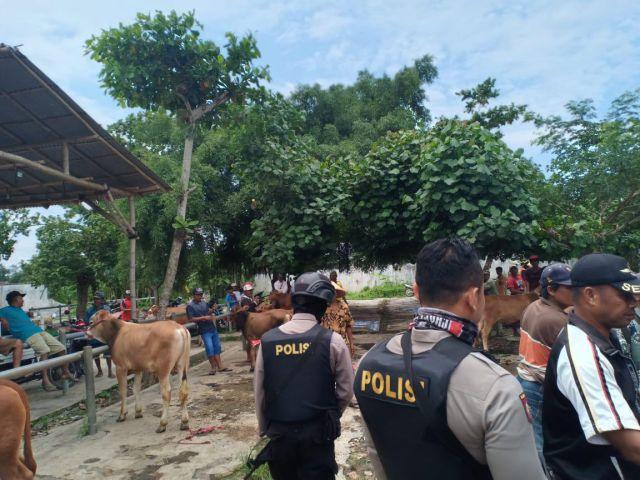Polisi Mengendus Transaksi Jual Sapi Curian di Pasar Krai - Yosowilanggun