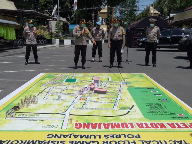 Polres Lumajang Akan Terapkan Tactical Floor Games di Sispamkota