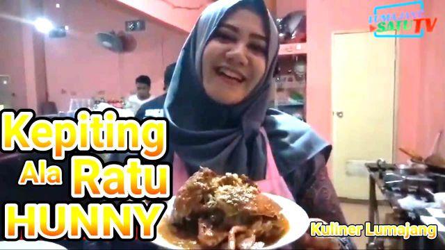 Video  : Nikmatnya..!! Kuliner Lumajang Kepiting Asam Manis Ala Ratu Hunny