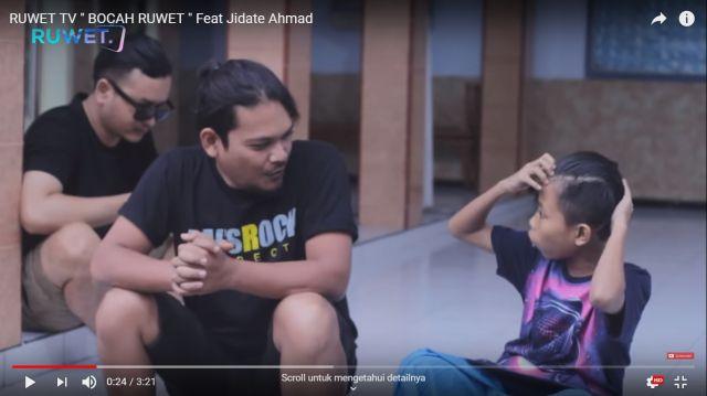 Video Bocah Ruwet TV Jadi Trending Lambungkan Creator Lumajang