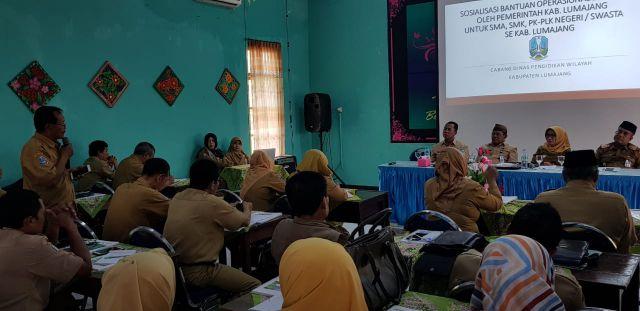 Horeee...!!! SPP Gratis SMA/SMK Tinggal Disetujui DPRD Lumajang