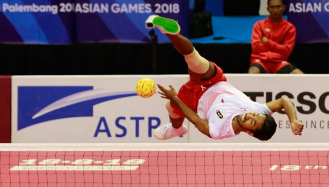 Bangga, Saiful Rijal Atlet Sepak Takraw Lumajang Ikut Sumbang Emas Indonesia