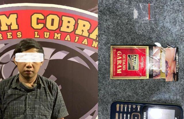 Warga Karangbendo Lumajang Nyedot Sabu Seakan Tak Peduli Corona