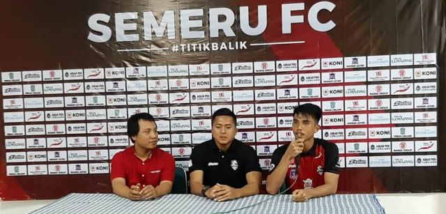 Semangat Pelatih dan Pemain Semeru FC Berkat Dukungan Masyarakat Lumajang