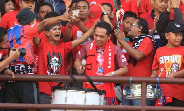 Basis supporter Semeru FC Terus Mengalir Seiring Performa Apik