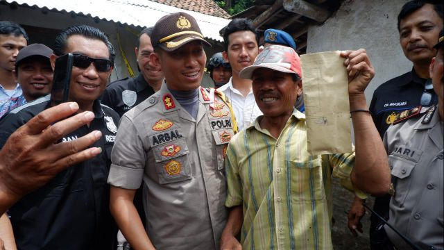 Sono Kagum Kapolres Lumajang Tepati Janjinya Soal Sayembara Tangkap Maling