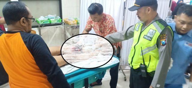 Crew dan Sopir Bus Rombongan Bidan Lumajang Patah Tulang