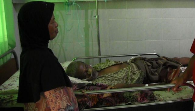 Sugeng Hariyanto Anggota KPPS Alami Stroke Dirawat di RS Bhayangkara