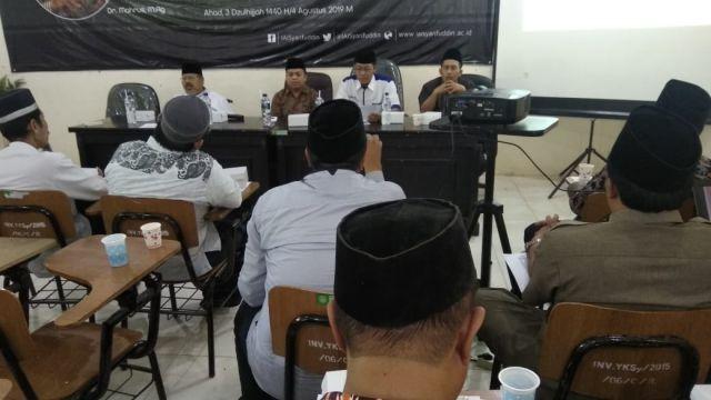 Civitas Akademik IAI Syarifuddin Gelar Tahlilan Bagi KH. Maimoen Zubair