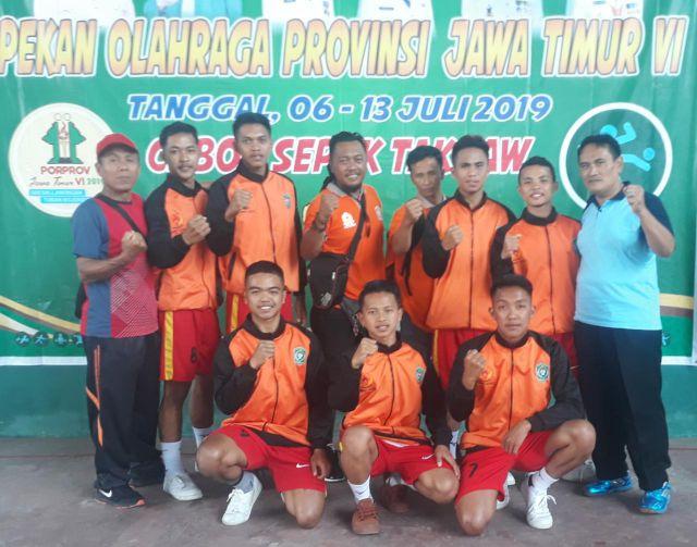 Tak Terbendung, Tim Takraw Lumajang Melaju ke Perempat Final