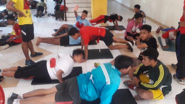BKOR Tes Kebugaran Atlet PORPROV Lumajang